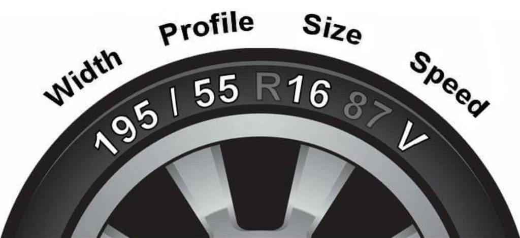 Tyre Profile Size Guide